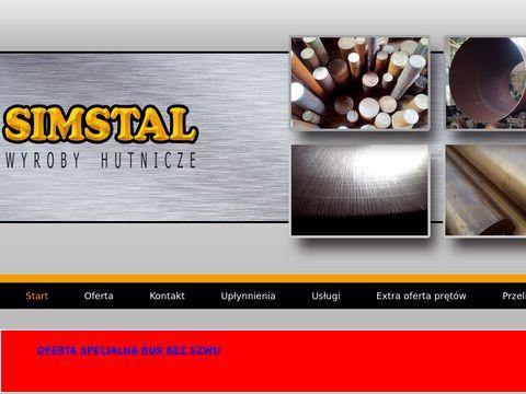Simstal.pl pręty ciągnione