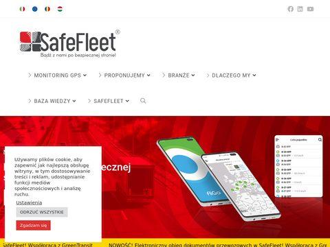 Safefleet.pl system monitoringu pojazdów