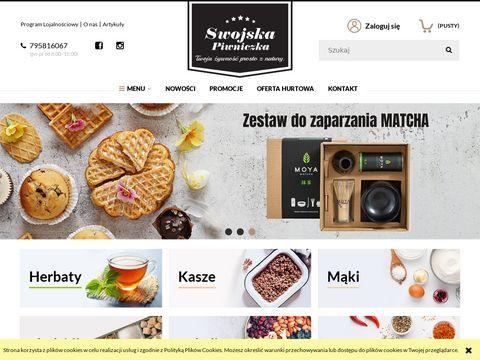 Swojskapiwniczka.pl sklep ze zdrową żywnością