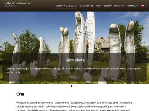 Rzezba.com.pl nowoczesne pomniki z brązu