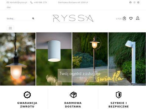 Ryssa.pl lampki dla dzieci do pokoju sklep internetowy