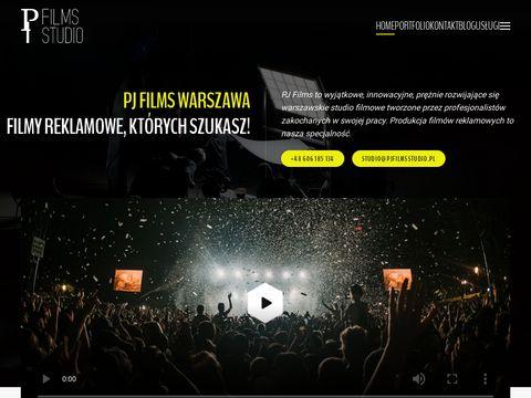 Pjfilmsstudio.pl filmowe w Warszawie