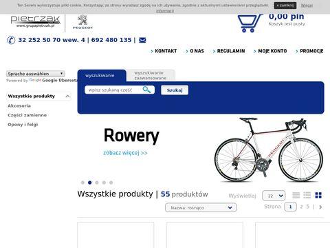Pietrzak.eparts.pl - Peugeot części oryginalne