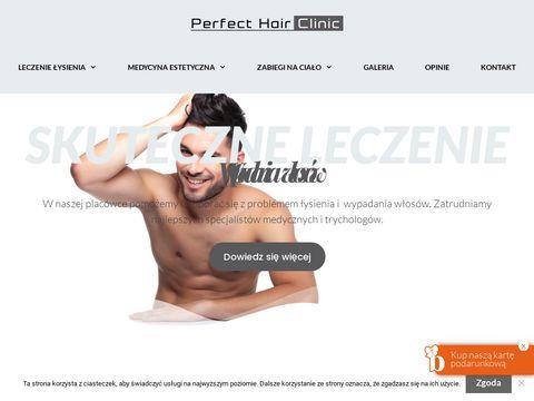 Perfecthairclinic.pl klinika przeszczepu włosów