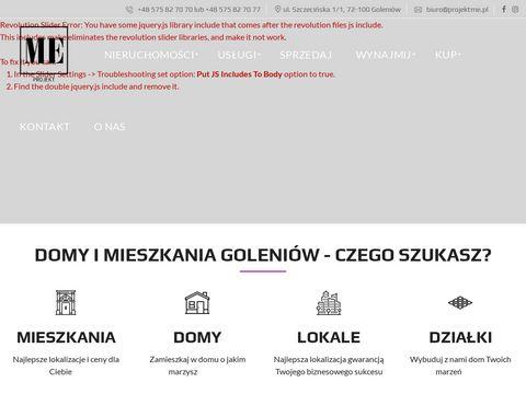 Projektme.pl biuro nieruchomości w Goleniowie