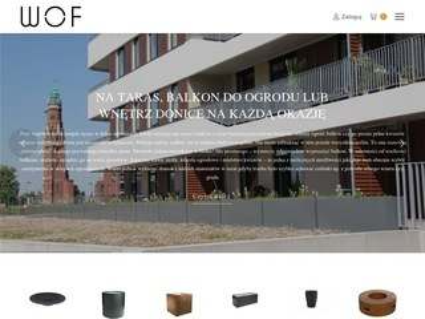 Worldofflowerpots.pl donice betonowe od producenta