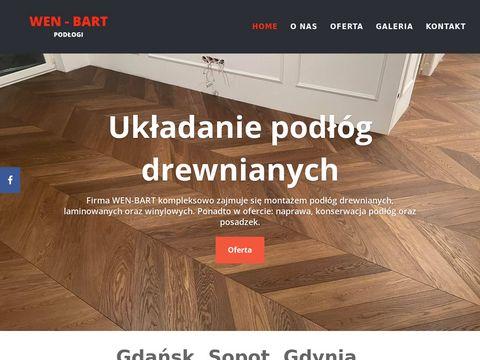 Wen-bart.pl - montaż podłóg Gdynia