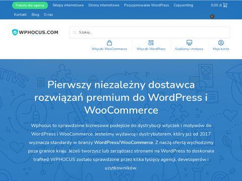 Wphocus.com skórki woocommerce