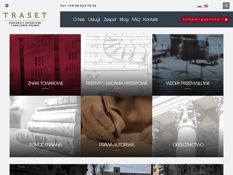 Traset.pl kancelaria patentowa