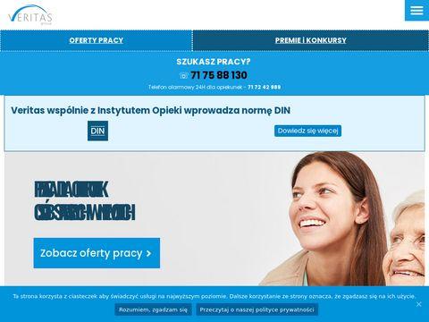 Veritas-opieka.pl agencja opiekunek osób starszych