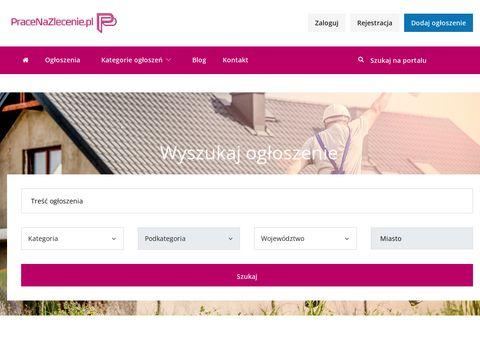 Pracenazlecenie.pl darmowe ogłoszenia