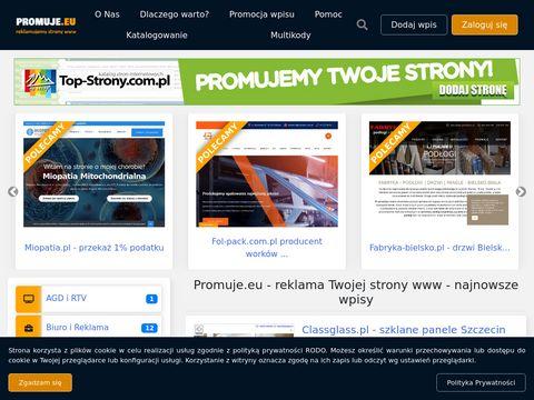 Promuje.eu - reklama strony www