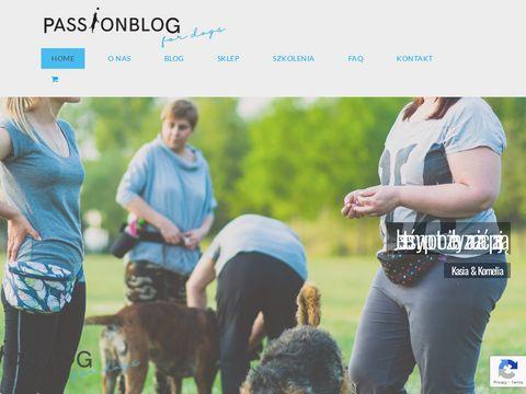Passionblog.com.pl tresura psów Katowice