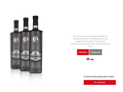 Polanin.com.pl wódka na wesele