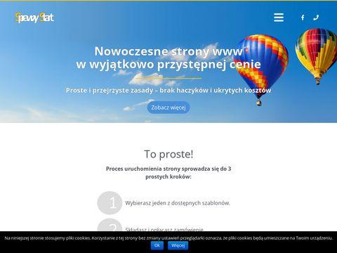 Sprawnystart.pl strony internetowe wordpress