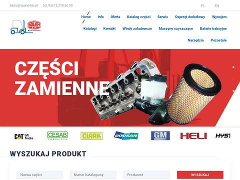 Sawimbis.pl wózki widłowe