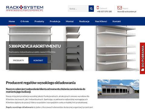 Regalysklepowe.pl wysokiego składowania