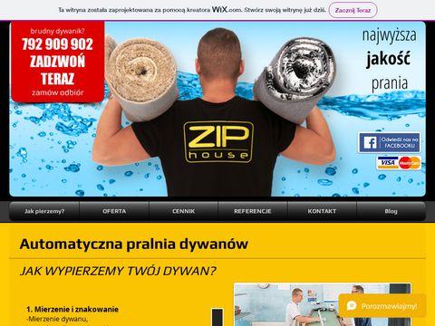 Ziphouse.pl czyszczenie dywanów Bydgoszcz