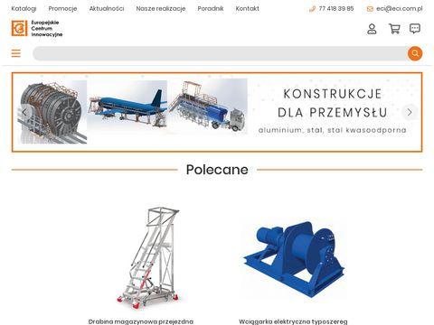Eci.com.pl pojemniki na piasek wyposażenie przemysłu