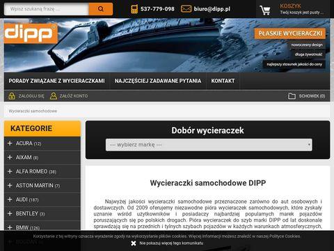 Dipp.pl wycieraczki do samochodu