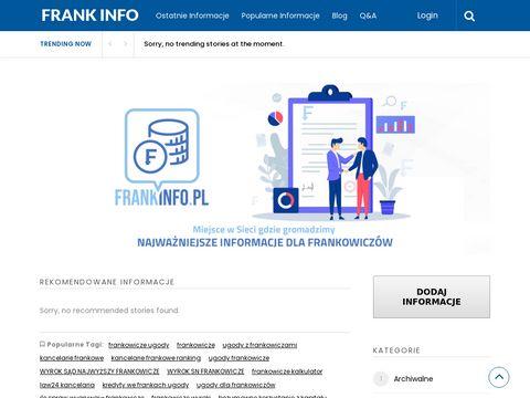 Frankinfo.pl kancelarie Warszawa