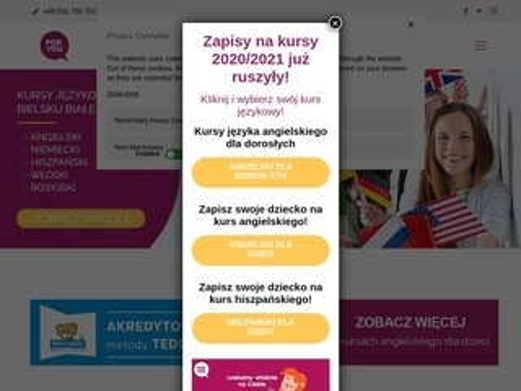 Foryou.edu.pl kursy językowe Bielsko