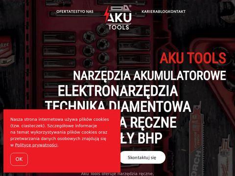 AKU Tools - elektronarzędzia artykuły bhp