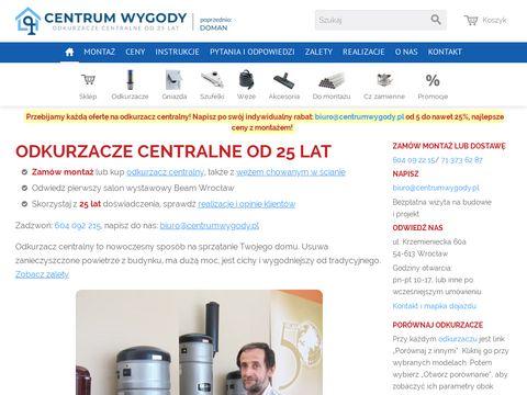 Centrumwygody.pl odkurzacze centralne