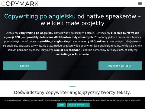 Copymark.eu copywriter