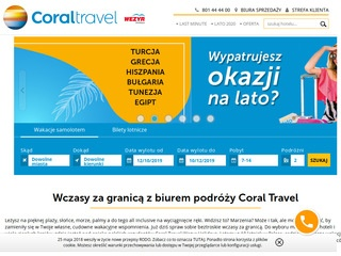 Coraltravel.pl biuro podroży