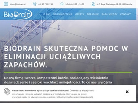 Biodrain.pl pomiary odorów