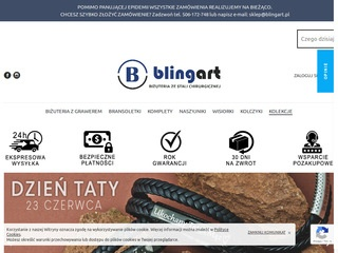 Blingart.pl biżuteria ze stali chirurgicznej