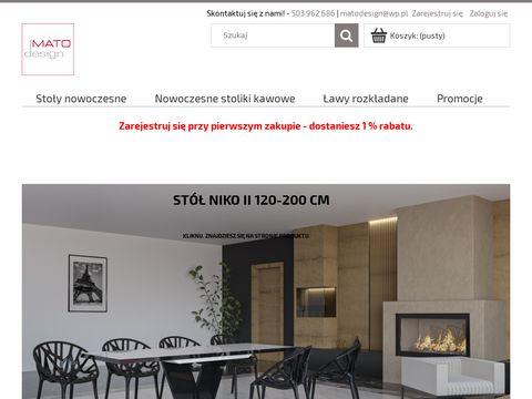 Matodesign.pl - nowoczesne stoliki kawowe