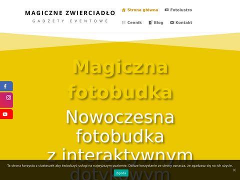Magiczne-zwierciadlo.pl wynajem fotobudki