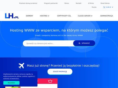 LH.pl - poczta i hosting stron www