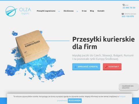 Olzalogistic.com paczki do Czech