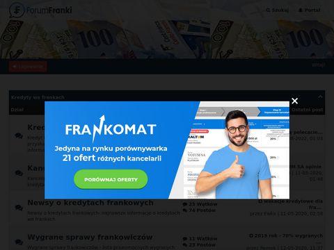 Ondaforum.com kredyty frankowicze