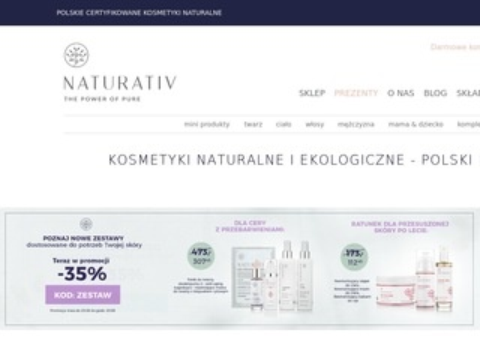 Naturativ.pl polskie kosmetyki