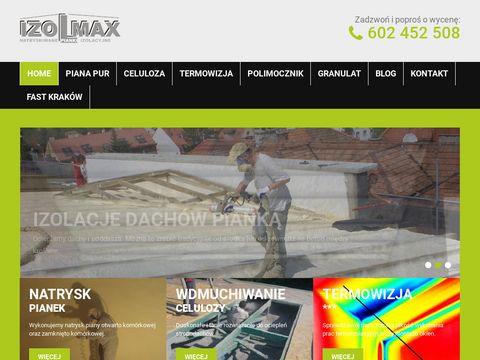 Izolmax izolacja i ocieplenia w Krakowie