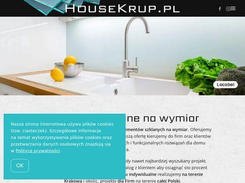 Housekrup.pl drzwi szklane i wiele więcej