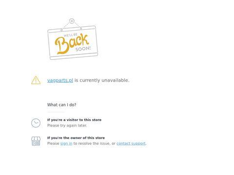 Vagparts.pl samochodowe części do Audi