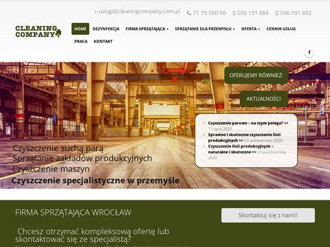 Cleaning Company sprzątanie Wrocław