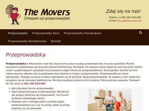 Tanie przeprowadzki Warszawa - themovers.pl