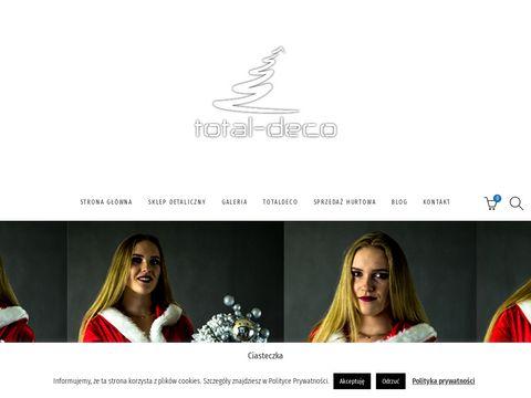 Totaldeco.pl choinka udekorowana