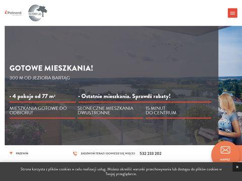 Teczowylas.polnord.pl mieszkania 2-pokojowe Olsztyn