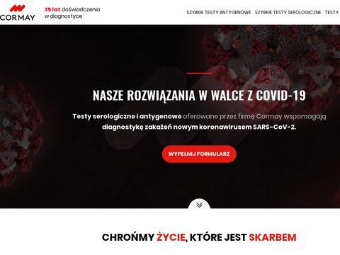 Koronawirus.cormay.pl