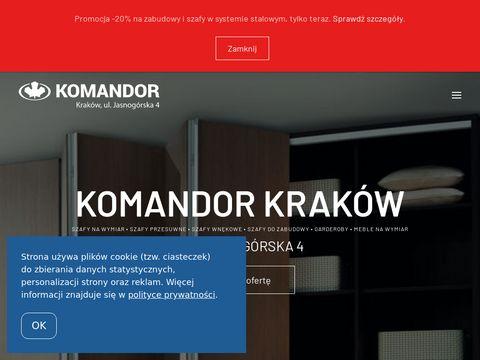 Komandor-krakow.com.pl szafy na wymiar