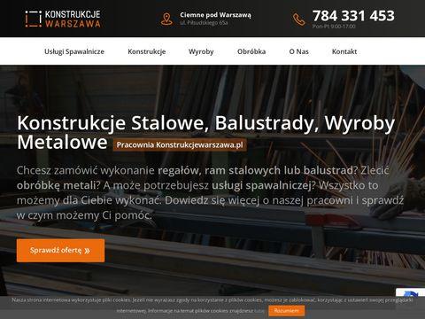 Konstrukcjewarszawa.pl stalowe