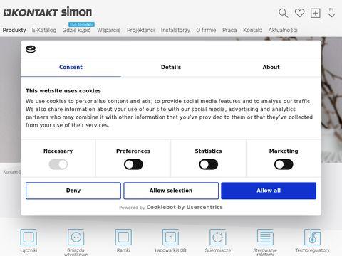 Kontakt-simon.com.pl gniazdka