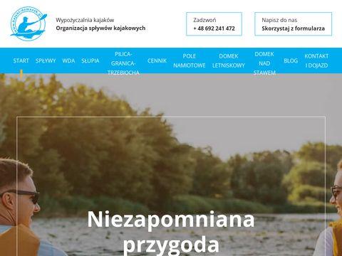 Kajaki-domaszk.pl - spływy Kaszuby
